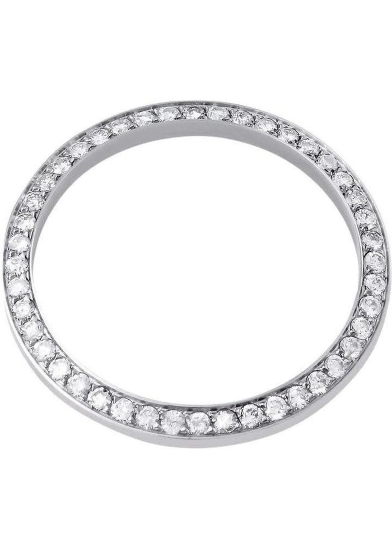 DIAMOND BEZEL 31MM WHITE GOLD