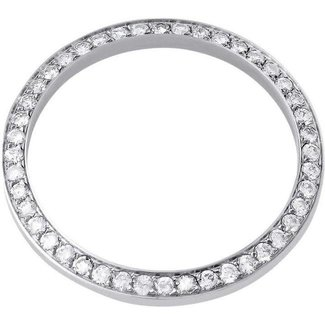 DIAMOND BEZEL 31MM WHITE GOLD