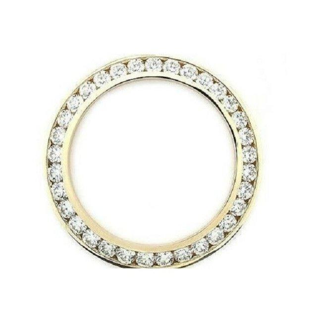 DIAMOND BEZEL 41MM YELLOW GOLD