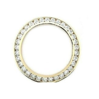 DIAMOND BEZEL 40MM YELLOW GOLD