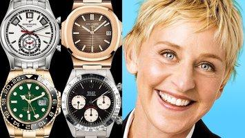 Ellen DeGeneres' Speechless Watch Collection!