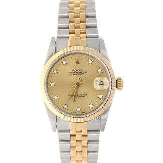 Rolex ROLEX DATEJUST 31MM (1984) FACTORY DIAMOND DIAL