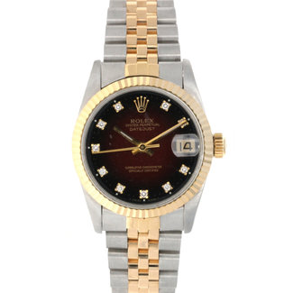 Rolex ROLEX DATEJUST 31MM (1987) FACTORY DIAMOND DIAL