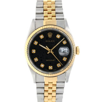 Rolex Rolex Datejust 36mm (1991 b+p) #16233