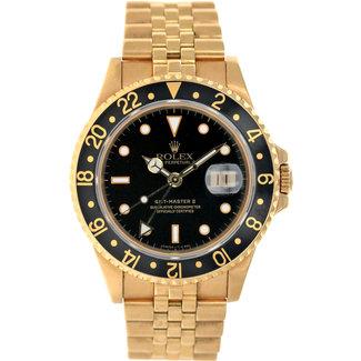 Rolex ROLEX GMT MASTER II #16718 (1997 B+P)