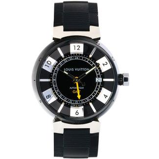 louis Vuitton LOUIS VUITTON TAMBOUR GMT #Q113K