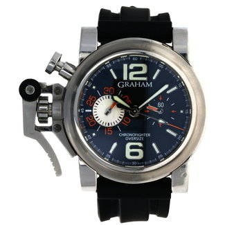 GRAHAM GRAHAM CHRONOFIGHTER OVERSIZE BLACK RANGER