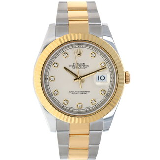 Rolex Rolex Datejust II 116333 Men's Automatic Two-Tone Stainless Steel Diamond Dial (2014) Full set