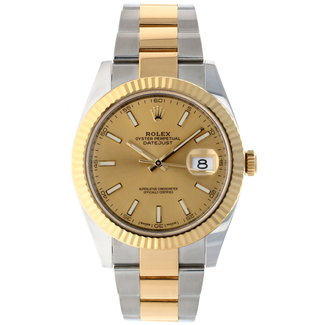 Rolex ROLEX DATEJUST 41MM (2018 B+P) #126333