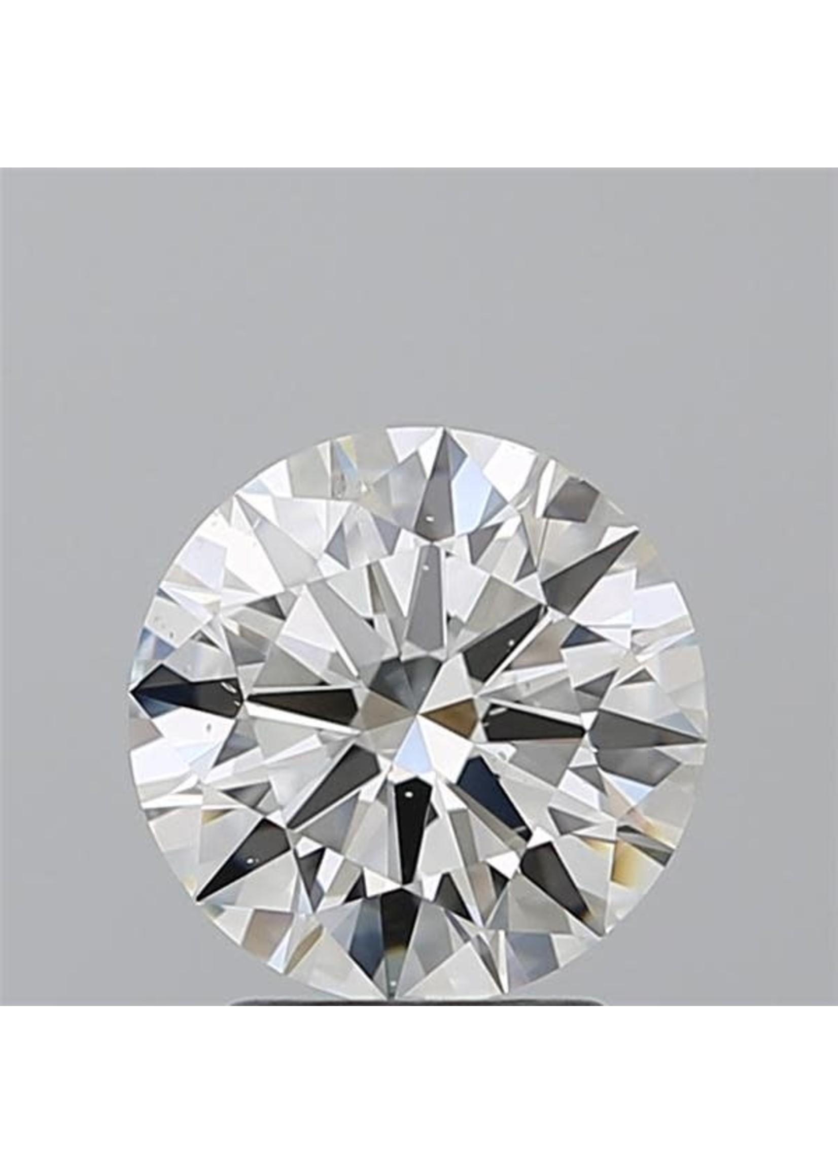 Jewellery ROUND CUT DIAMOND 2.23 CT. I-1 H VG
