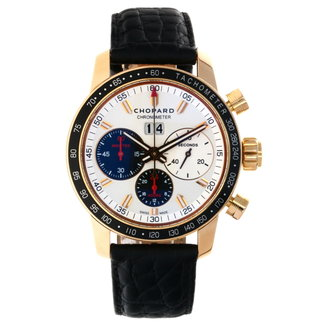 CHOPARD Chopard NEW Jacky Ickx Edition V Chronograph Automatic Silver Dial Men's Watch 161286-5001