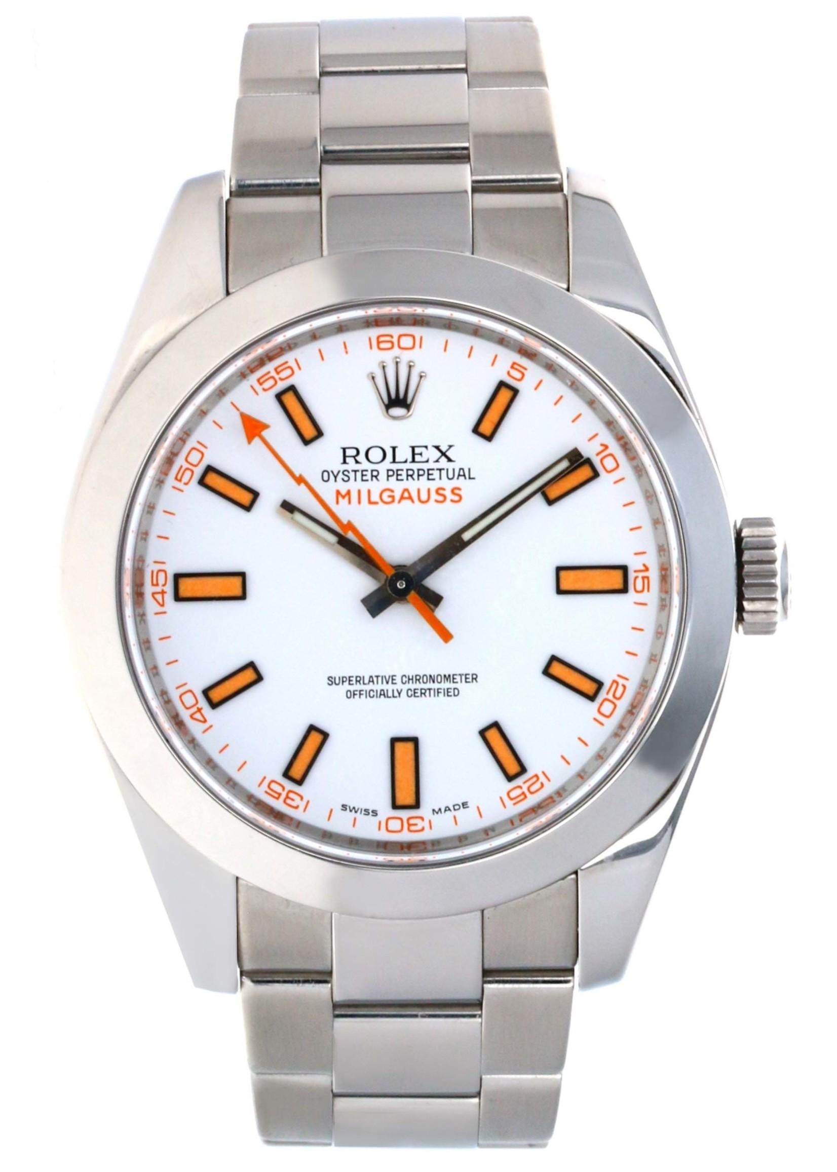 Rolex Watches ROLEX MILGAUSS #116400WSO