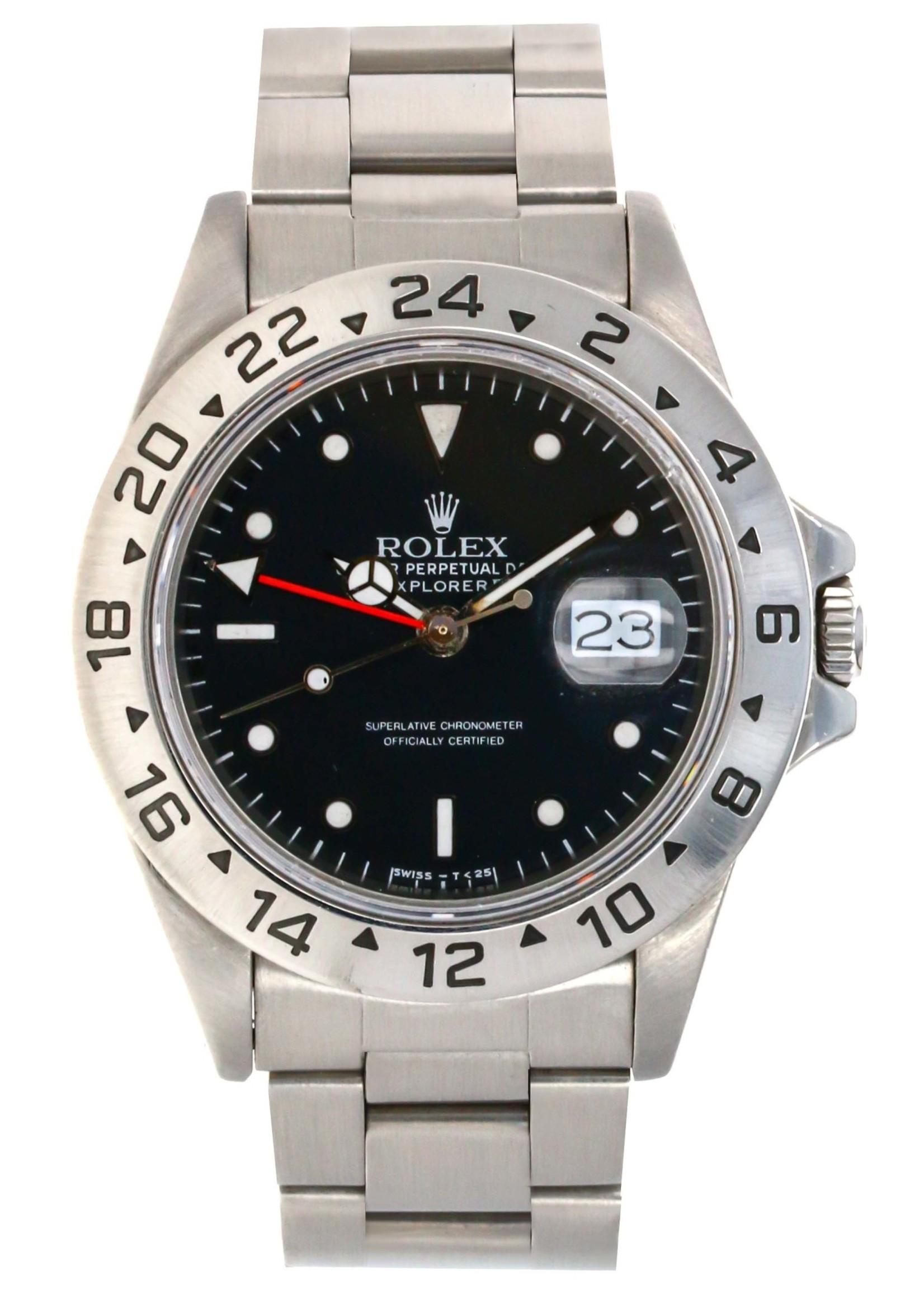 Rolex ROLEX EXPLORER II (1985) #16550  ROLEX SERVICE HANDS - AFTERMARKET DIAL