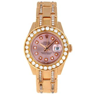 Rolex Rolex Pink Gold Pearlmaster 29 (2015) Full Set