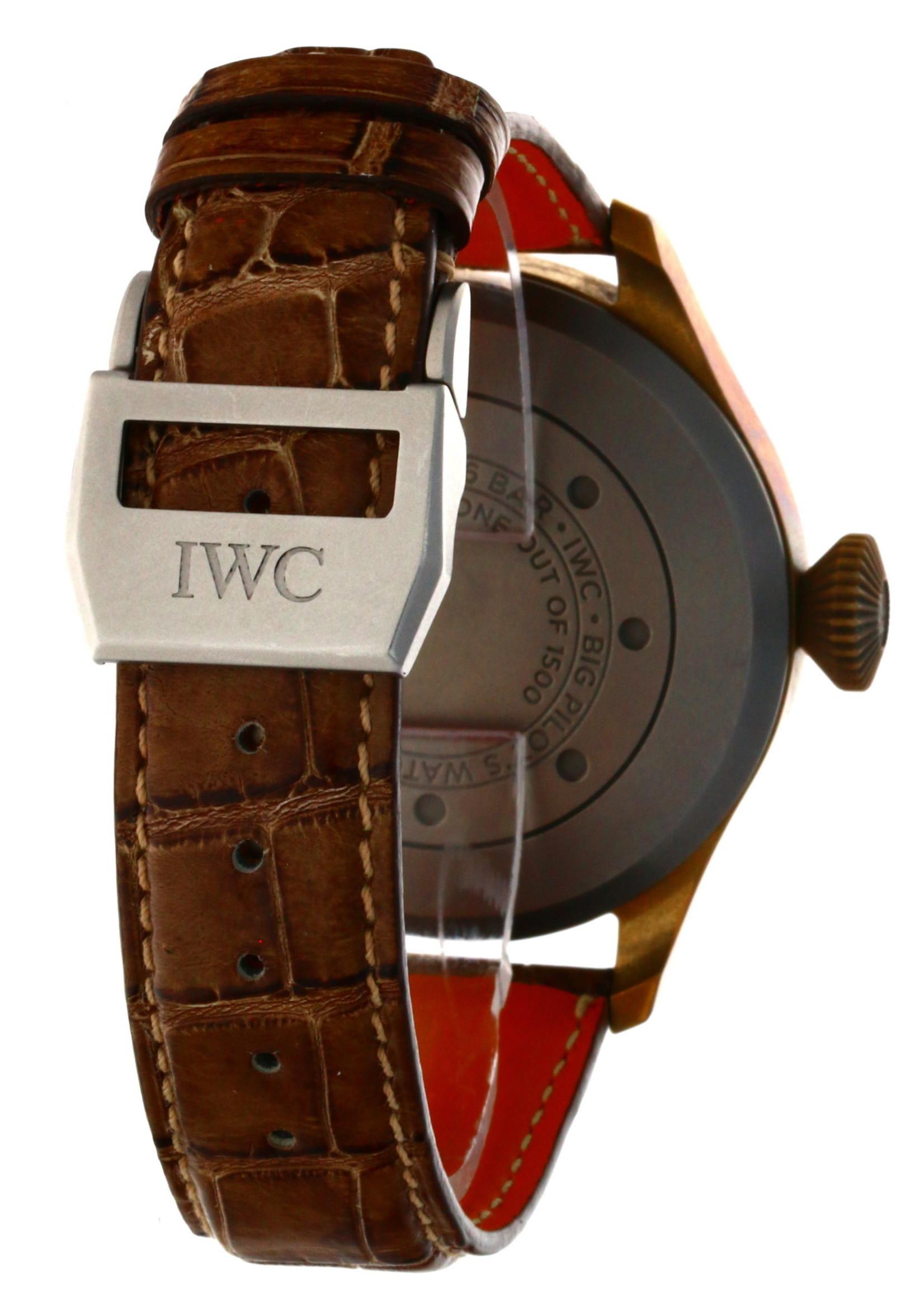 IWC IWC BIG PILOT HERITAGE #IW501005 (2018 B+P)