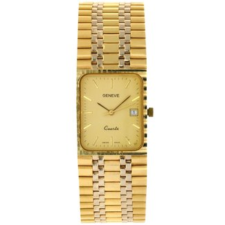 GENEVE GENEVE 14K GOLD WATCH