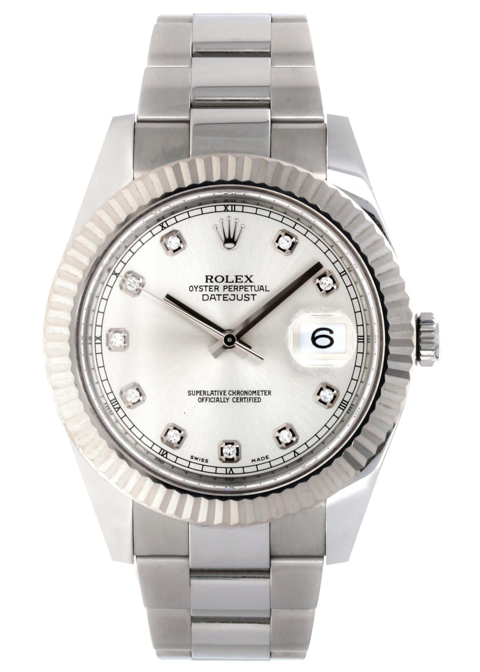 Rolex ROLEX DATEJUST II (2010 B+P) #116334