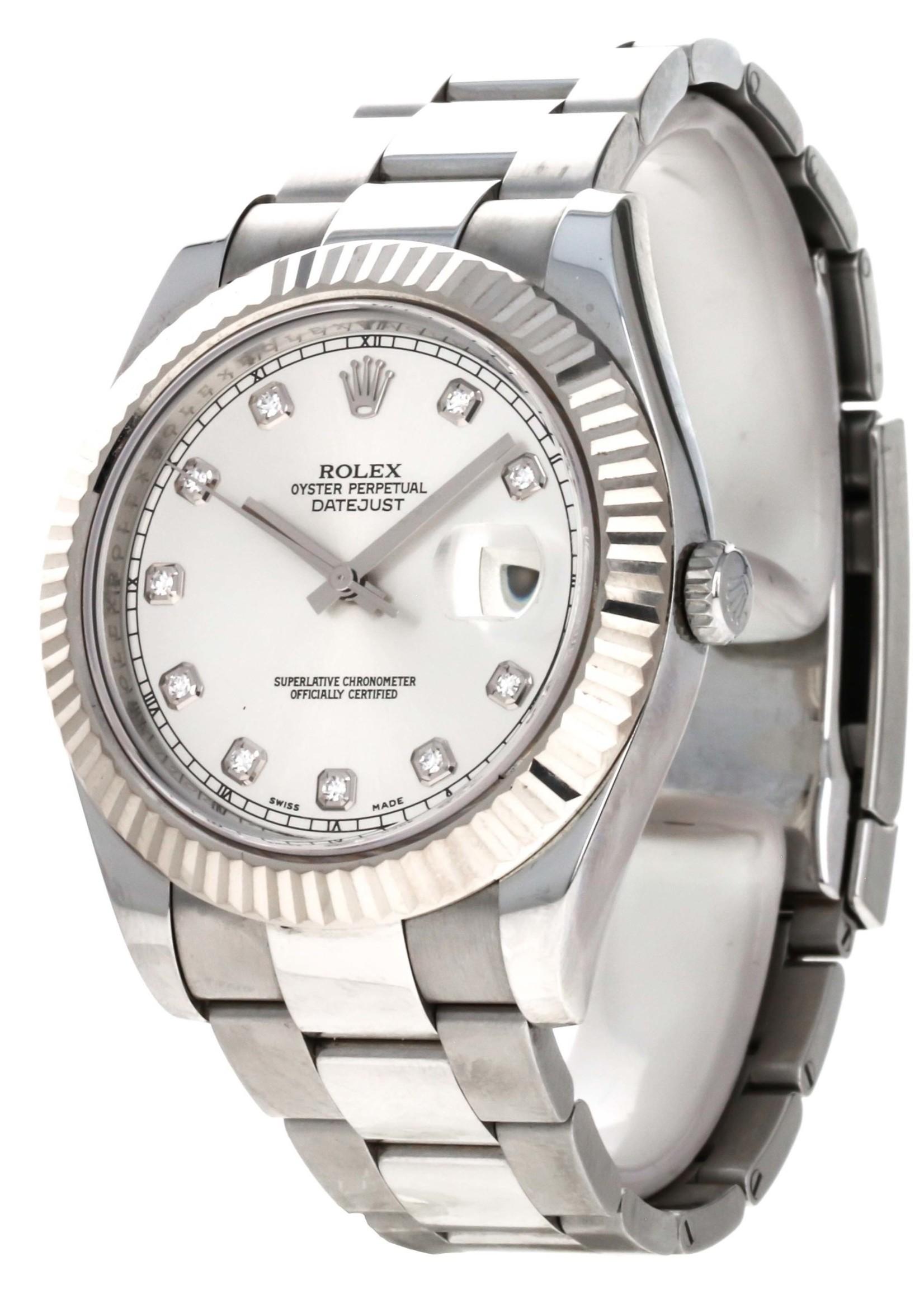 Rolex Watches ROLEX DATEJUST II (2010 B+P) #116334