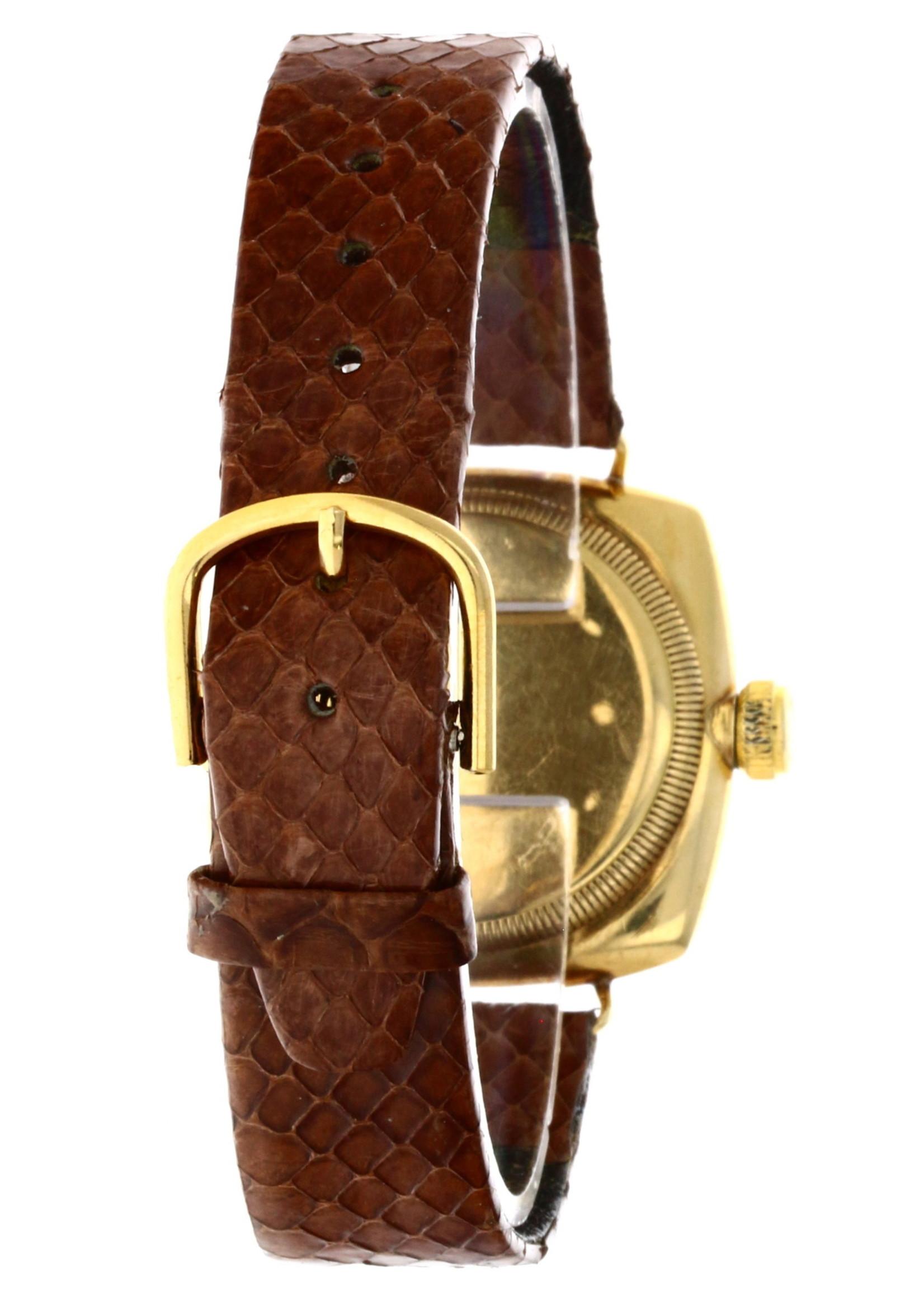 Rolex MINCKS ROLEX 16 WORLD RECORDS WATCH VINTAGE GOLD