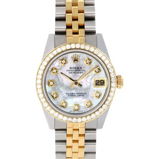 Rolex ROLEX DATEJUST 31MM (2019) AFTERMARKET DIAMOND BEZEL AND DIAL