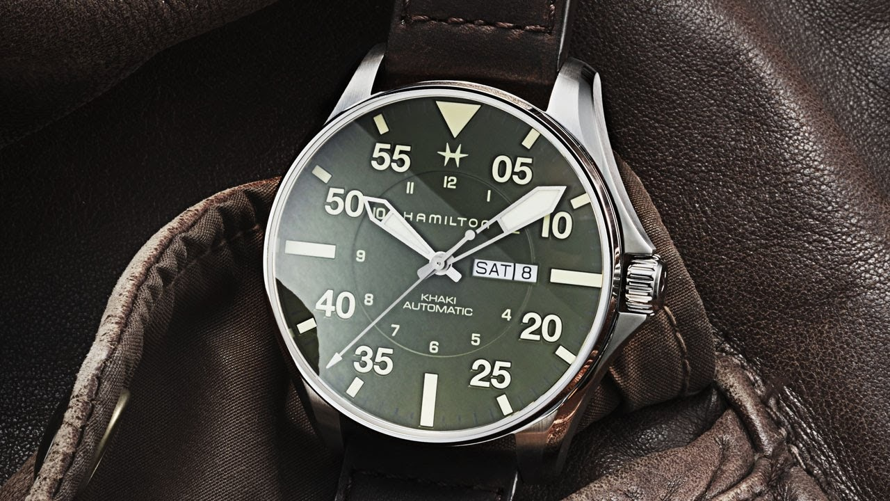 The Most Luxury Watch Used - Hamilton Brand