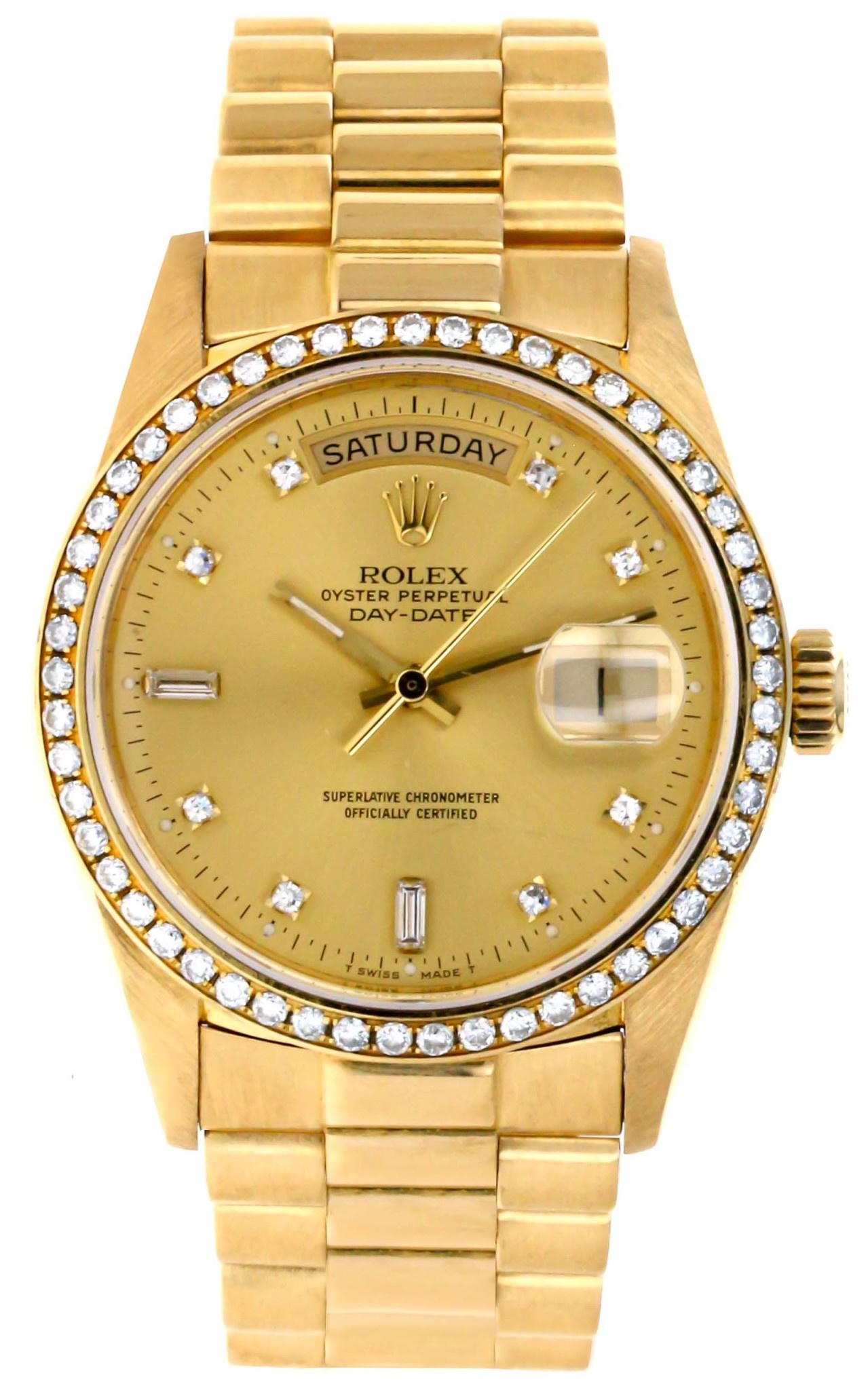 Rolex Day Date Factory Diamond