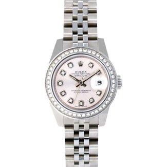 Rolex Copy of Rolex 26mm (New) Custom Diamond