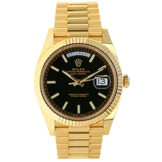 Rolex Rolex Yellow Gold Day-Date 40 Watch - 2019 B&P