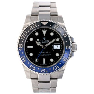 Rolex Rolex GMT Batman Bezel-2014 B&P