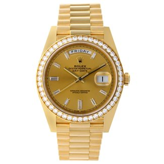Rolex Rolex Yellow Gold Day-Date 40 Watch NEW