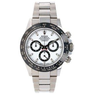 Rolex Rolex Steel Cosmograph Daytona 40 Watch - White Panda Index Dial