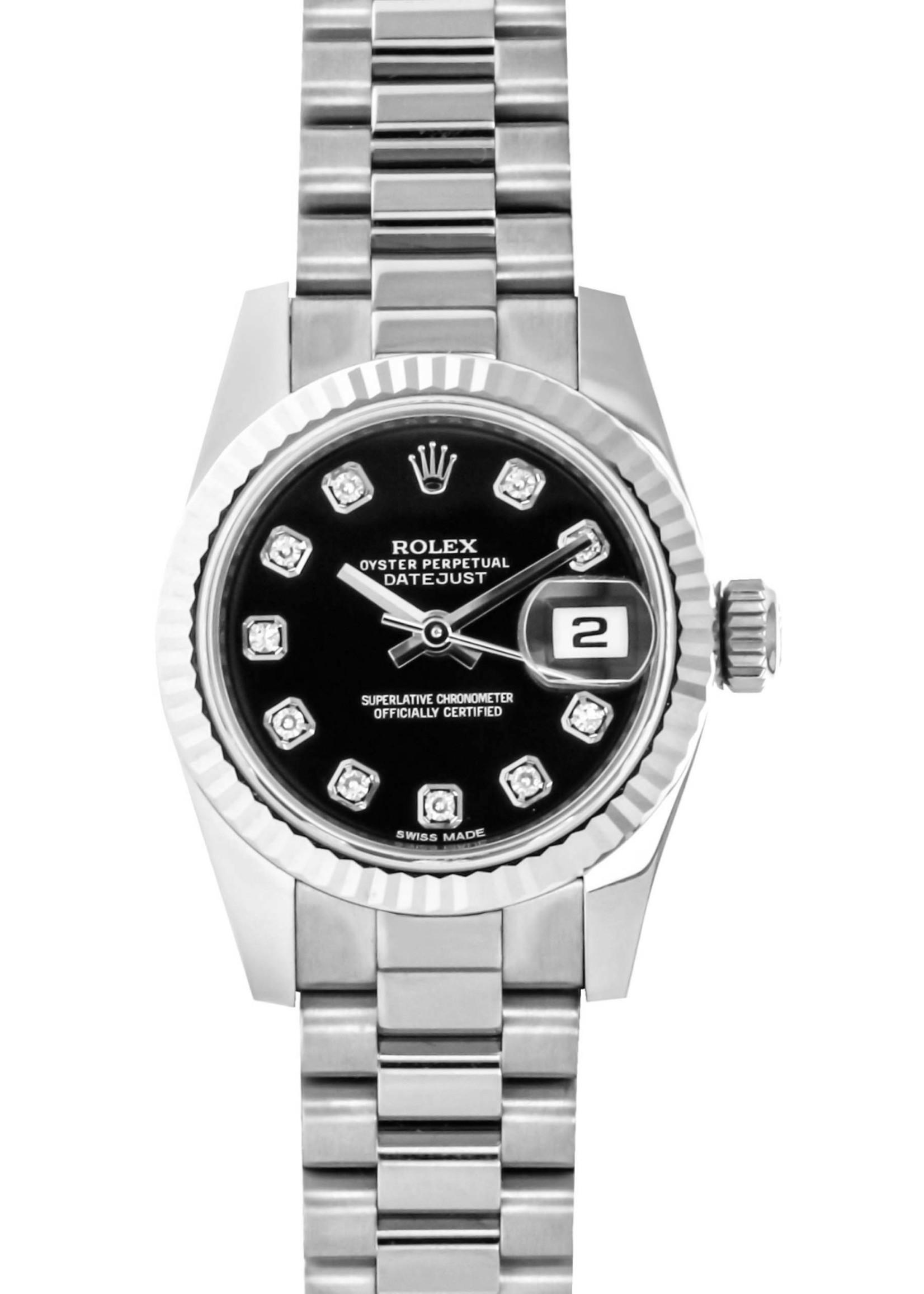 Rolex Rolex 26MM Datejust White Gold #179179 (2020 B+P)