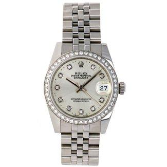 Rolex Rolex Datejust 31 B&P- 2 year rolex warranty