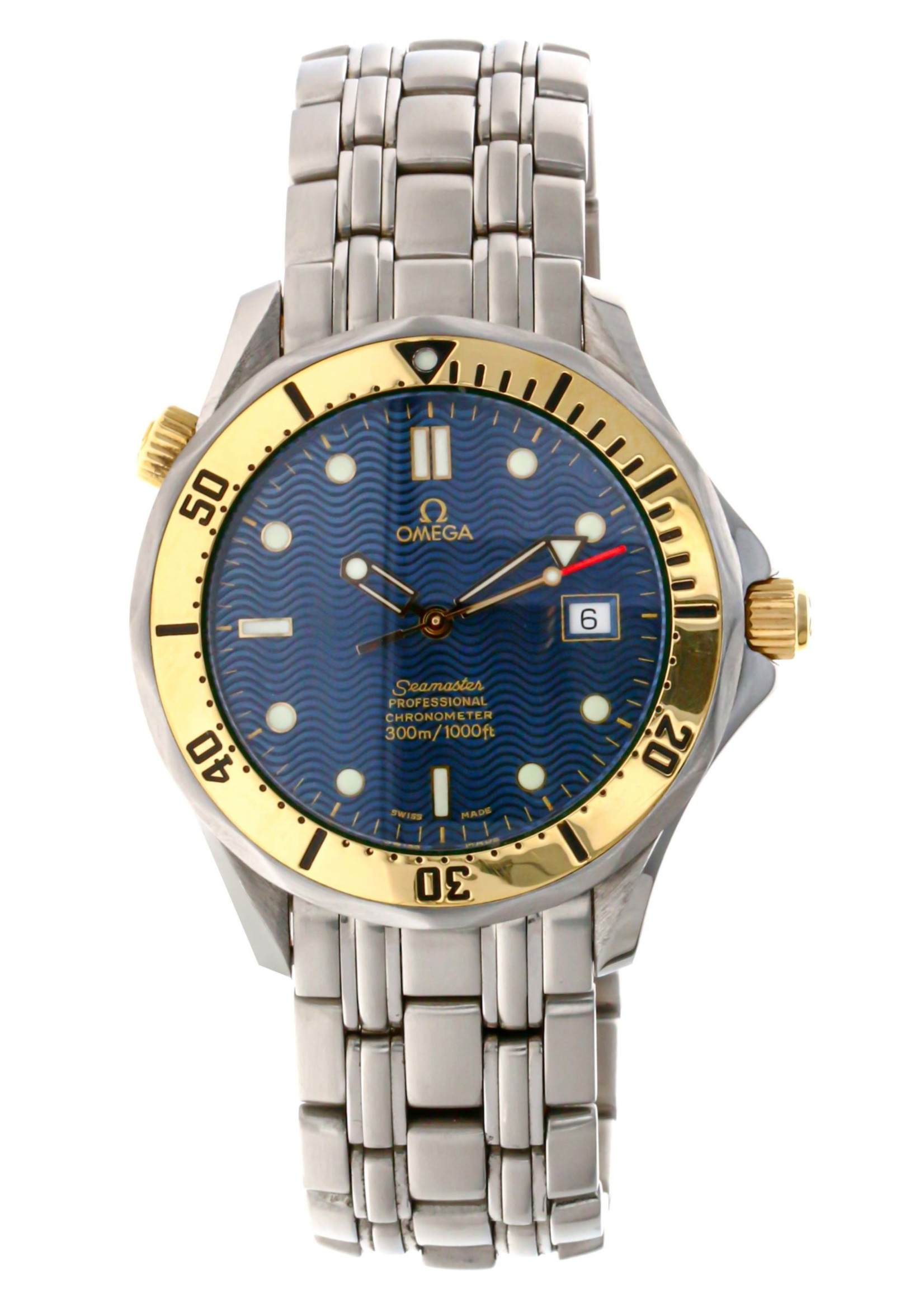 Omega Omega Seamaster 300m Two tone Head