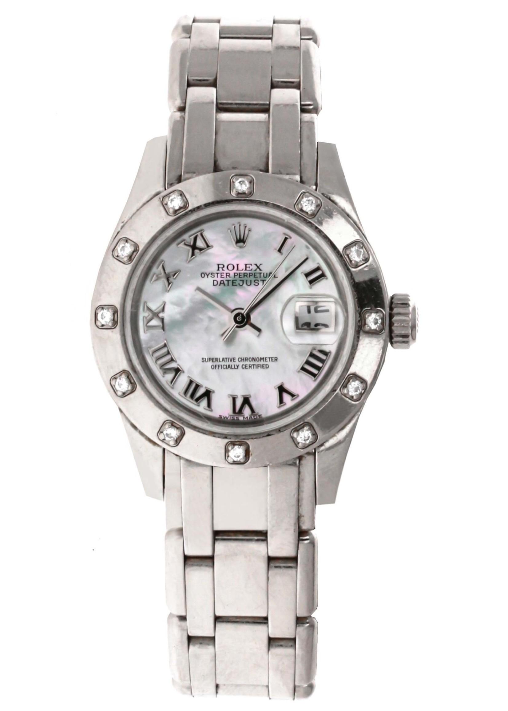Rolex Watches ROLEX DATEJUST PEARLMASTER 29MM (2002 B+P) #80319