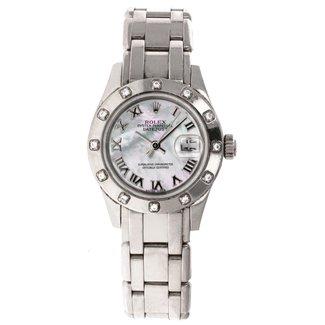 Rolex Rolex Datejust PearlMaster #80319 29MM (2002 B+P))