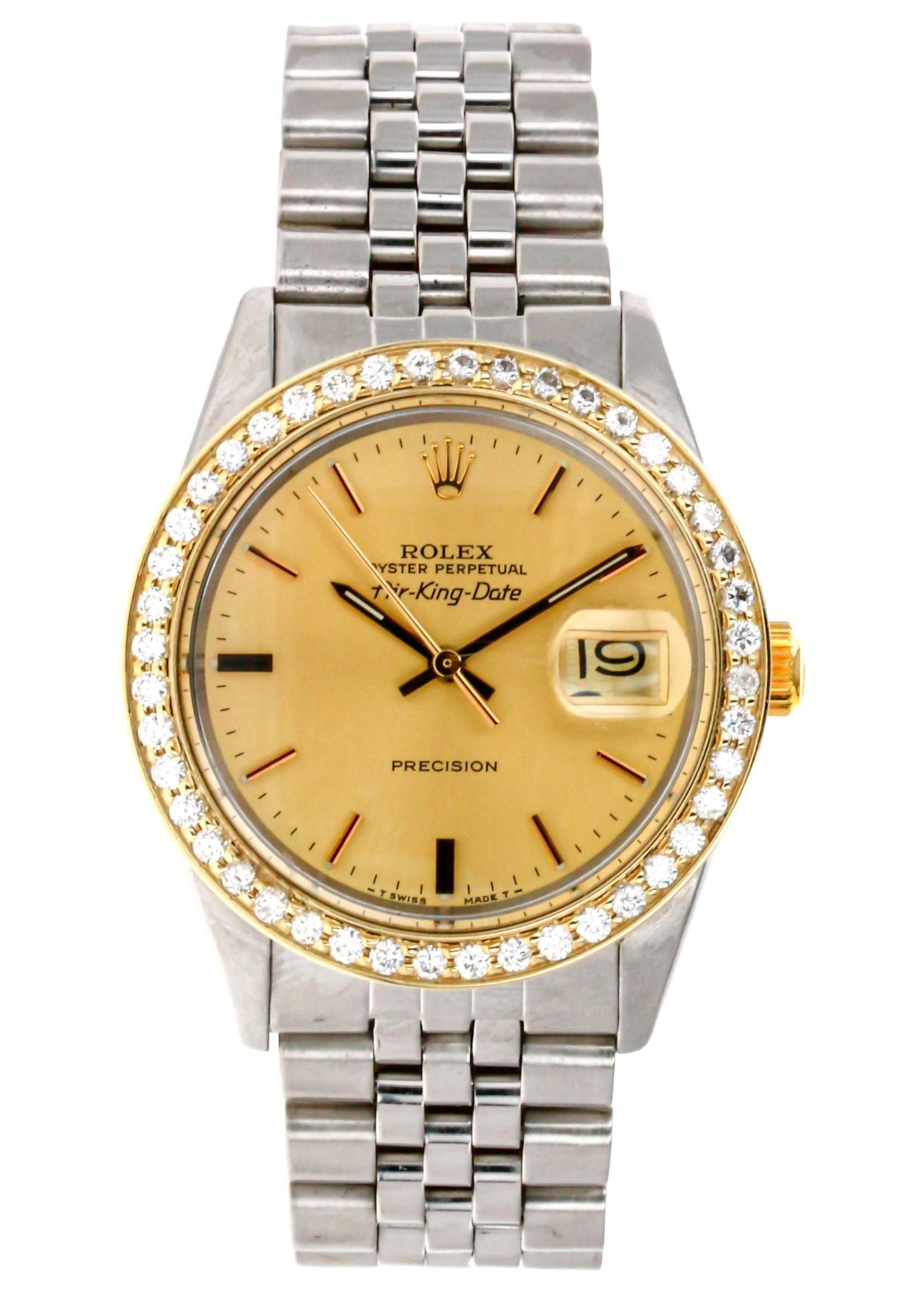 Rolex ROLEX AIRKING DATE PRECISION 34MM (1988) #5701N