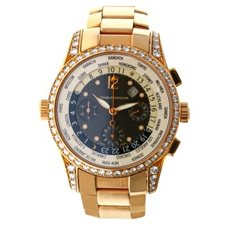 GIRARD PERREGAUX Girard Perregaux World Time Chronograph Financial in Rose Gold