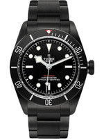 Tudor Tudor Watches: M79230DK-0008 Black Bay Dark (2018 B+P) STICKERS ON