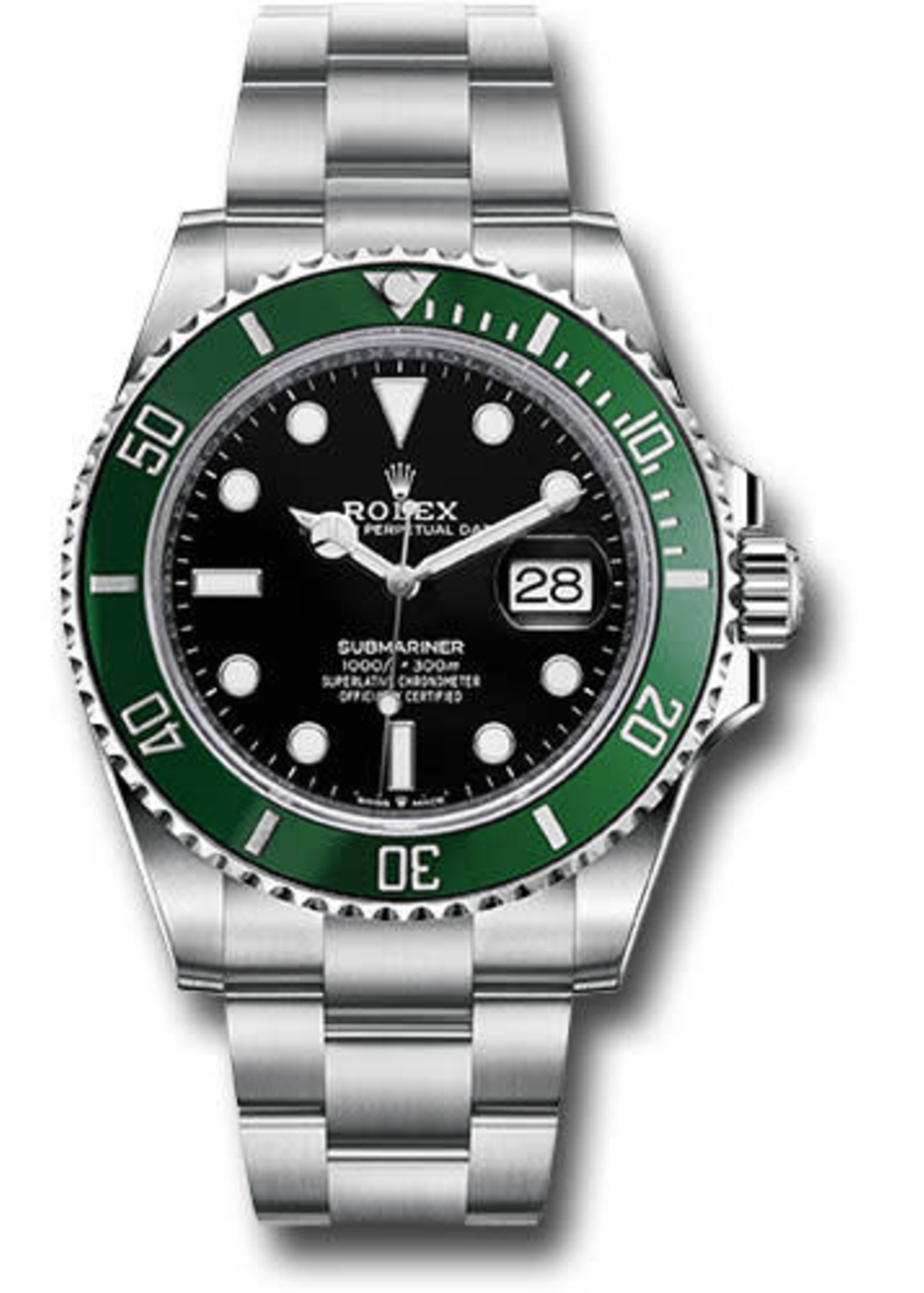 Rolex ROLEX SUBMARINER 41MM (2020 B+P) #126610LV