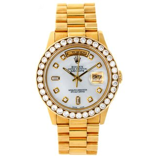 Rolex ROLEX DAYDATE 36MM 18K YELLOW GOLD