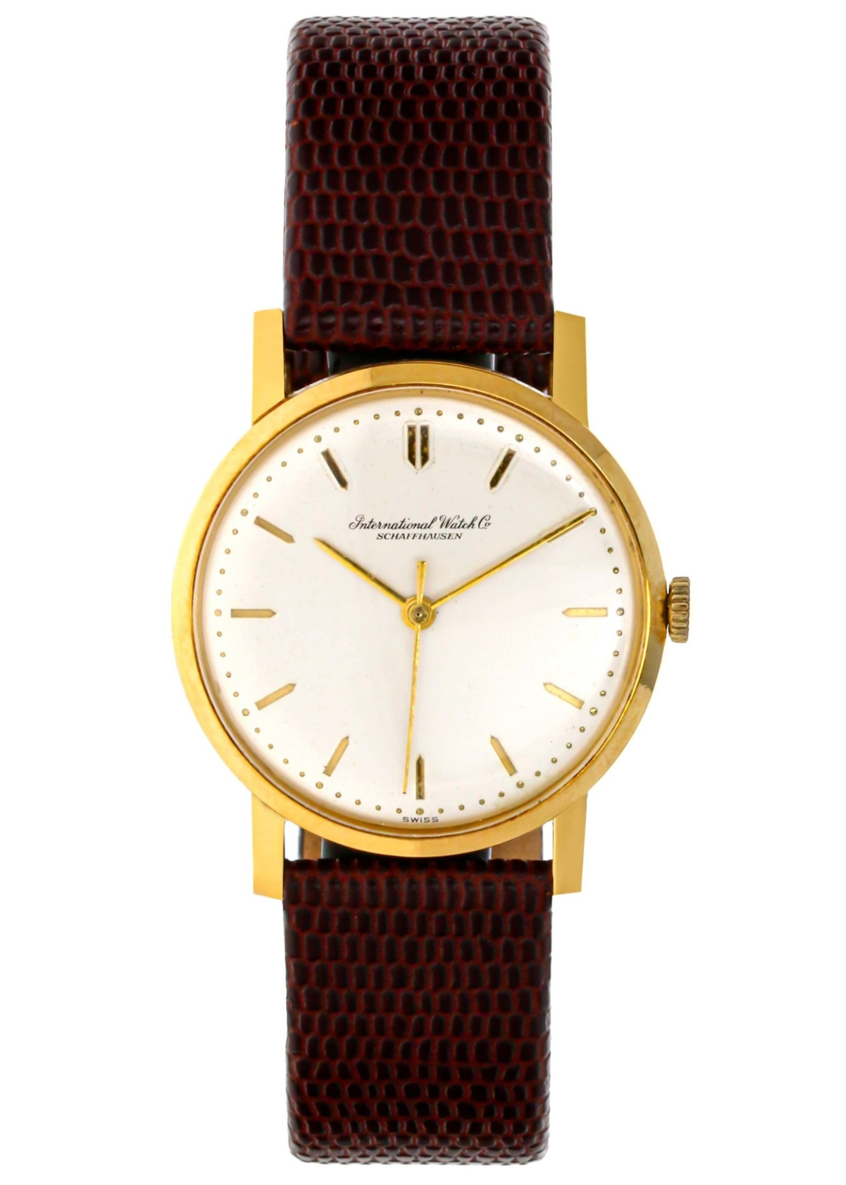 IWC IWC VINTAGE 18K GOLD WATCH