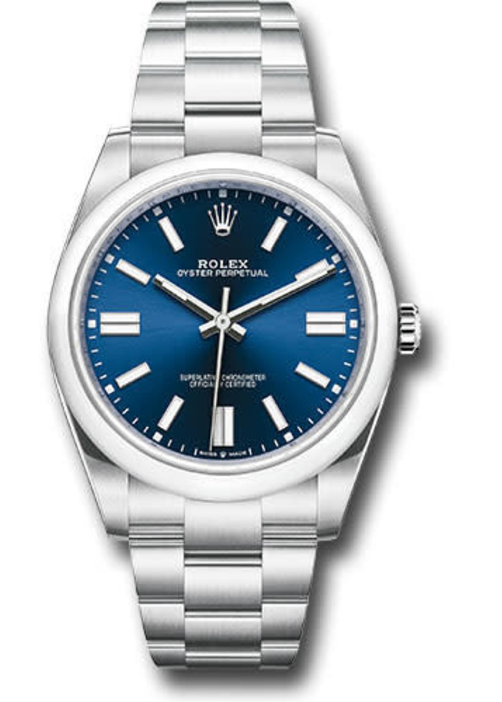 Rolex ROLEX OYSTER PERPETUAL 41MM #124300 (2020 B+P)