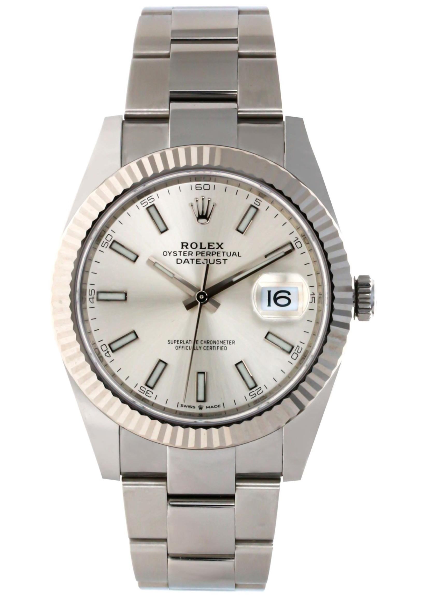 Rolex ROLEX DATEJUST 41MM (2020 B+P) #126334