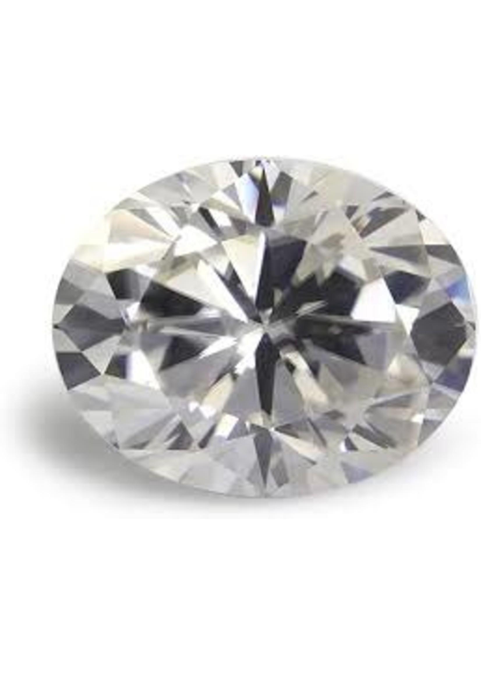 Jewellery 5.97 CT OVAL DIAMOND L VS1 EXCELLENT CUT