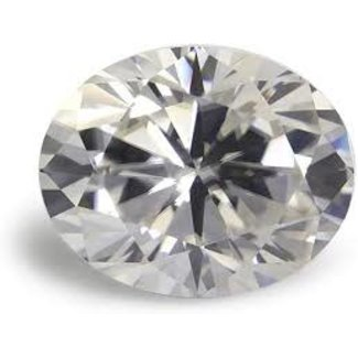 Jewellery 5.97 CT OVAL DIAMOND L VS1 EXCELLENT CUT