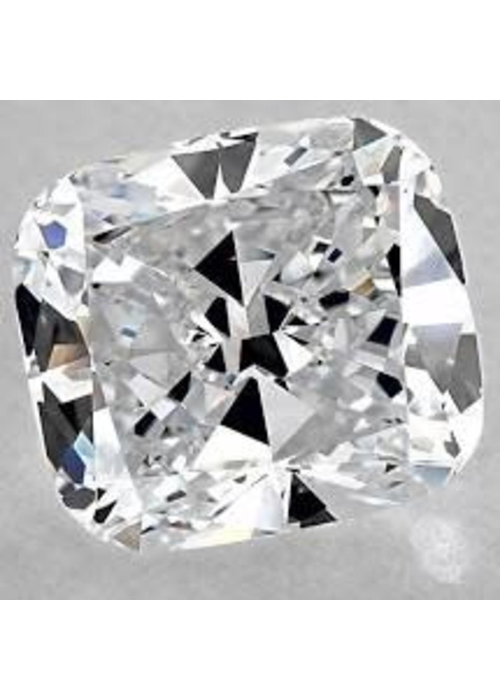 Jewellery 3.40 CT CUSHION DIAMOND E VS2 ECVELLENT CUT GIA #2286974520