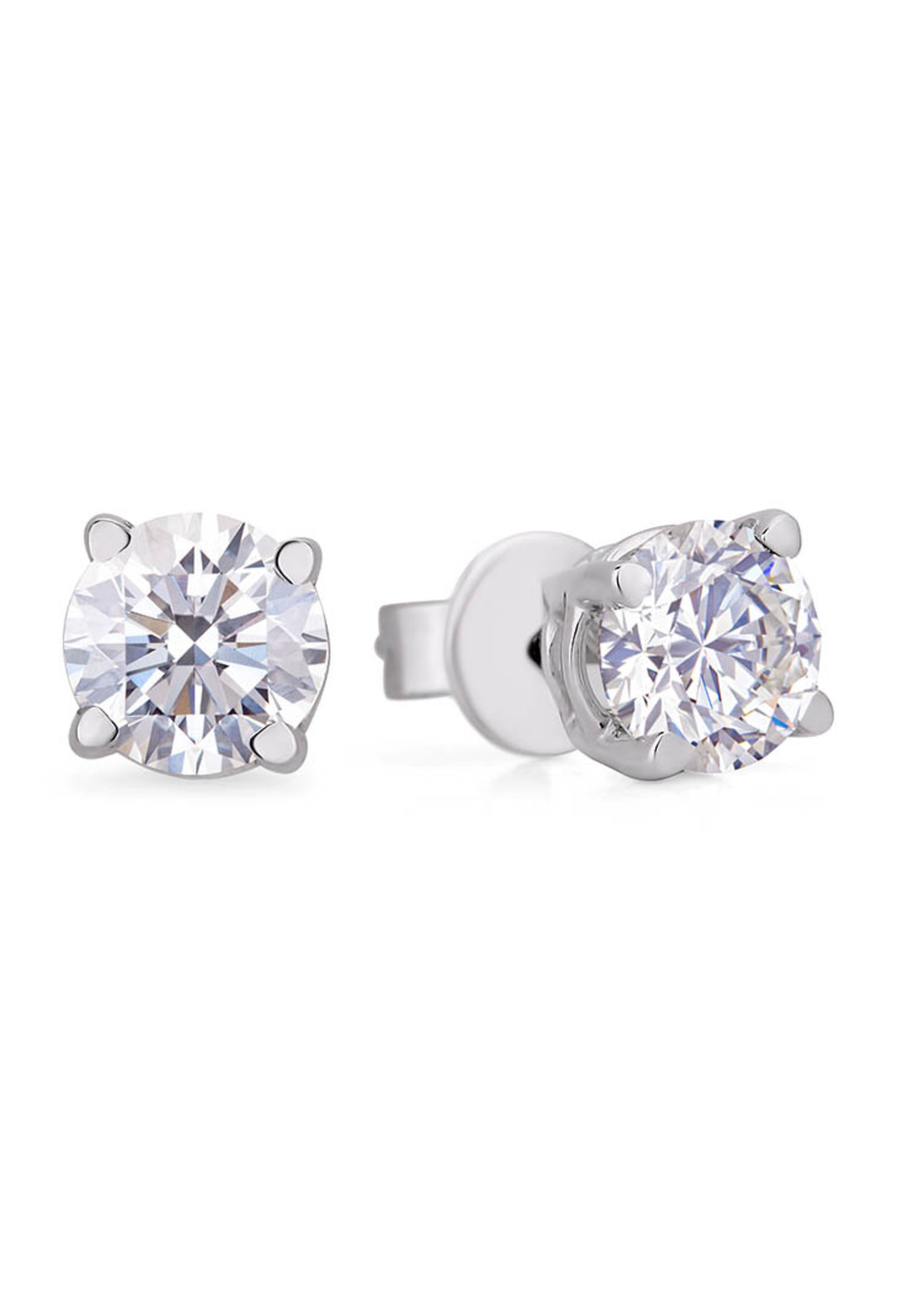 2.02CT DIAMOND EARRINGS I1, H, I