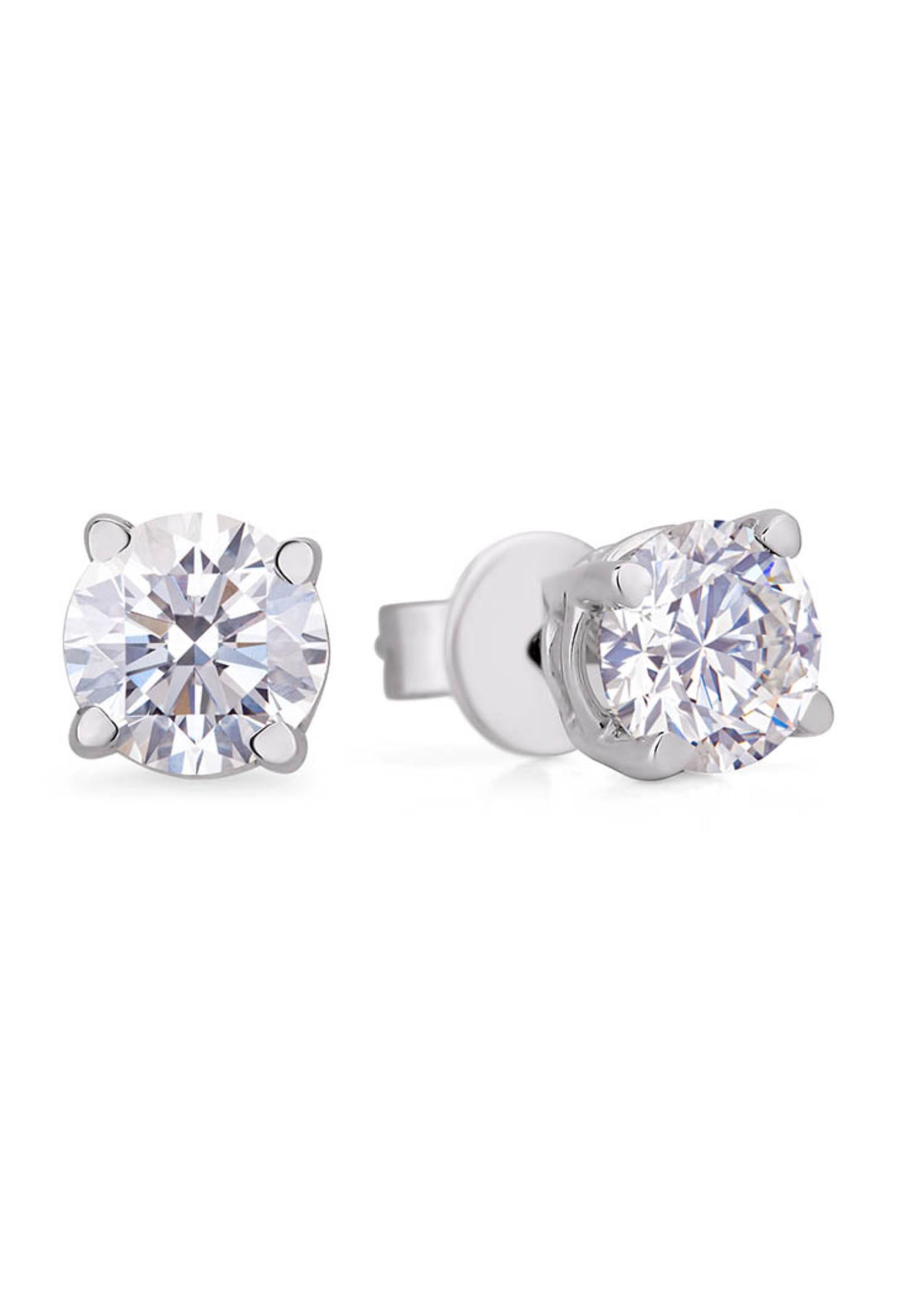 2.02CT DIAMOND EARRINGS I1, H, I
