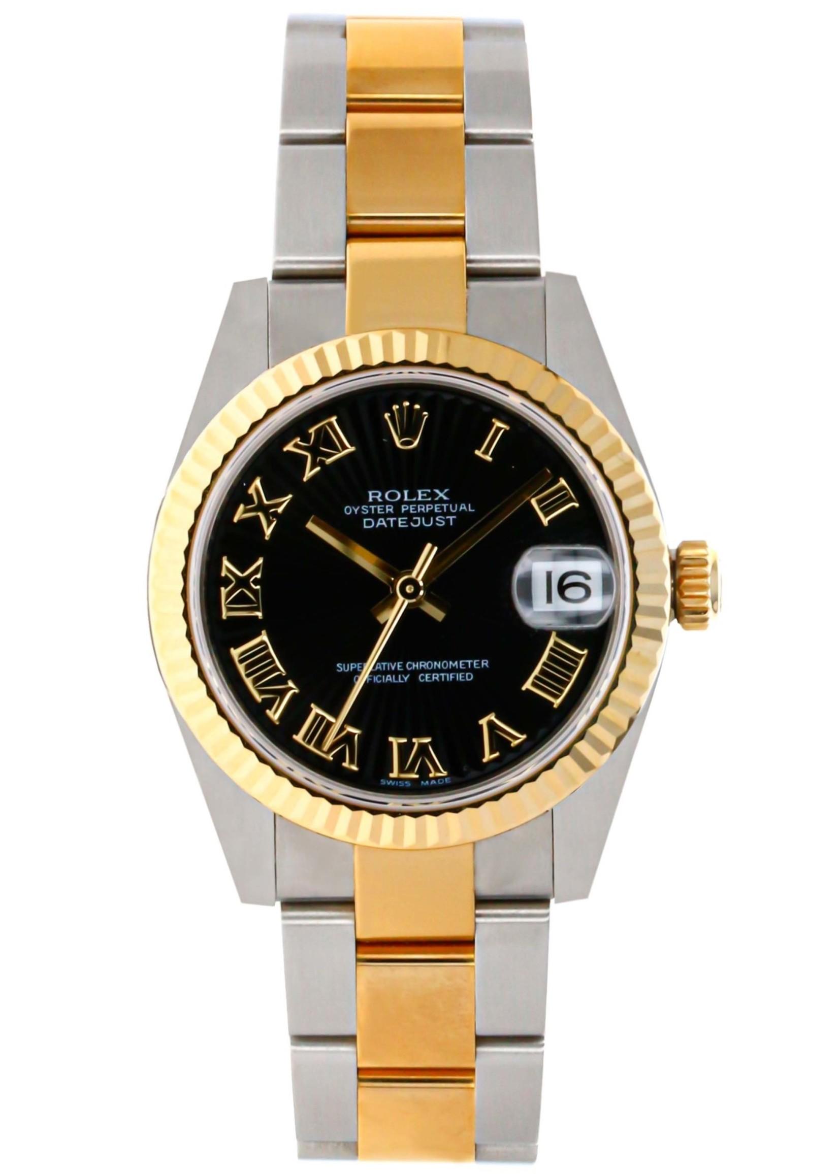Rolex ROLEX DATEJUST 31MM (NEW OLD STOCK)(B+P) #178273